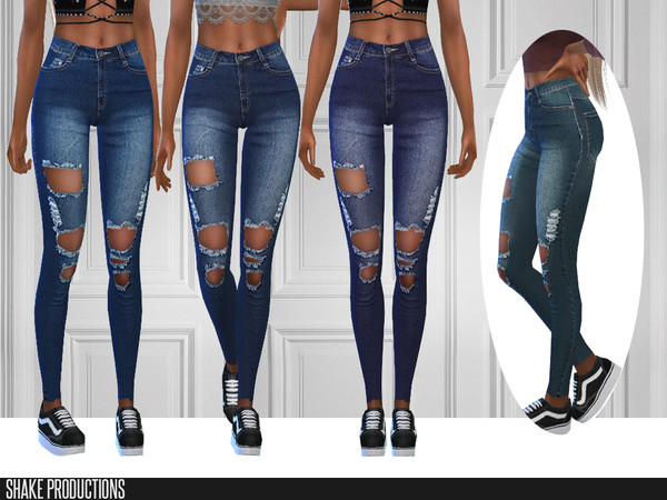 287 Jeans by ShakeProductions at TSR image 38 Sims 4 Updates