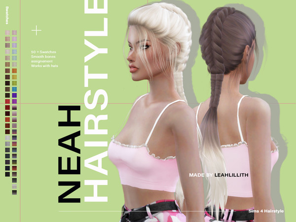 Neah Hairstyle by Leah Lillith at TSR image 3814 Sims 4 Updates