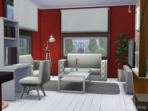Small modern house by Misa1996 at TSR image 382 Sims 4 Updates