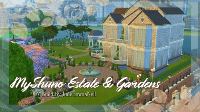 Sims 4 Myshuno Estate & Gardens Event Venue by JudeEmmaNell at Mod The Sims