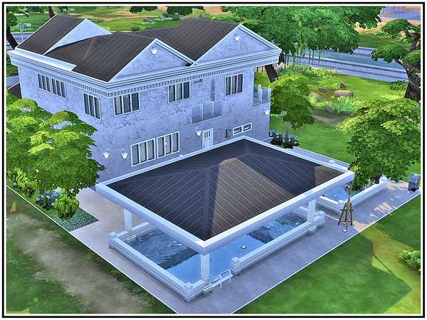 Amberton house by marcorse at TSR image 4 Sims 4 Updates