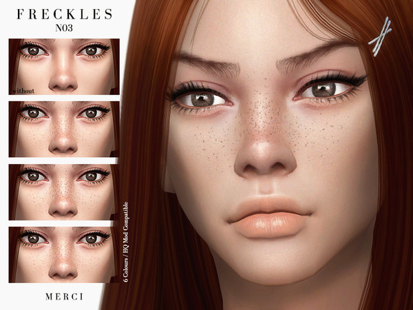 Sims 4 Freckles N03 by Merci at TSR