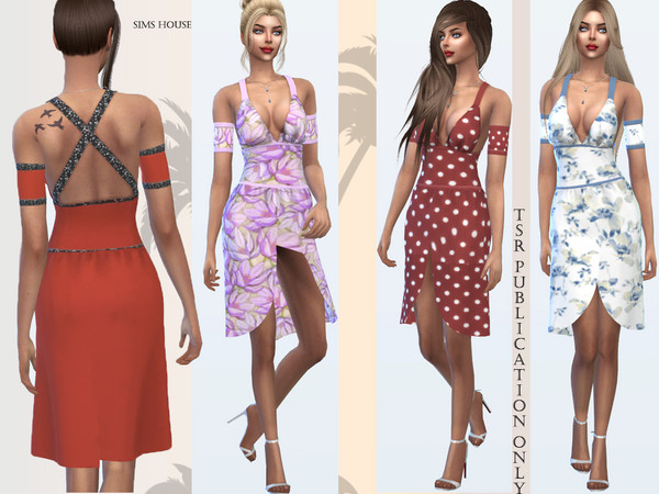 Safari Dress by Sims House at TSR image 419 Sims 4 Updates