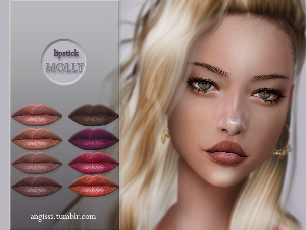 MOLLY lipstick by ANGISSI at TSR image 4218 Sims 4 Updates