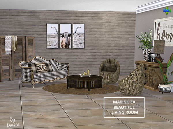 Making EA Beautiful Living Room Set by Chicklet453681 at TSR ...