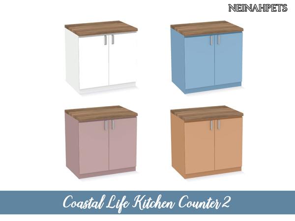 Coastal Life Kitchen Pt I by neinahpets at TSR image 4222 Sims 4 Updates
