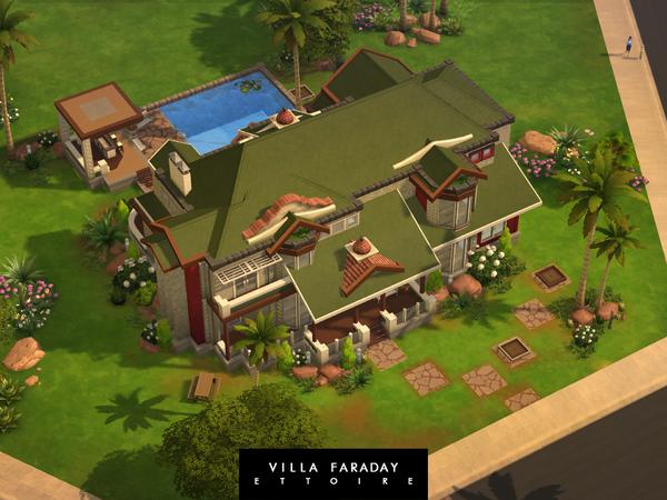 Villa Faraday by Ettoire at TSR image 440 Sims 4 Updates