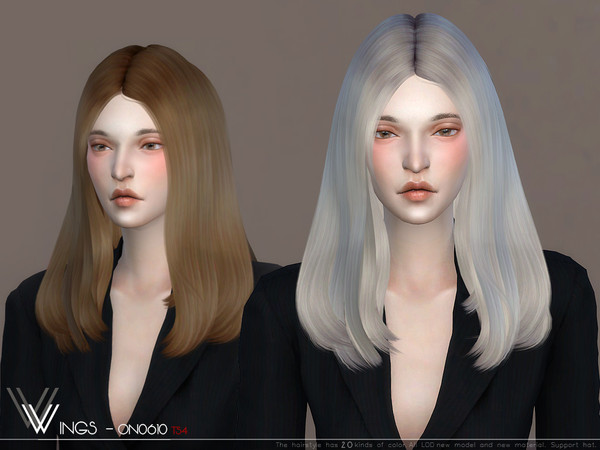 WINGS ON0610 hair by wingssims at TSR image 448 Sims 4 Updates