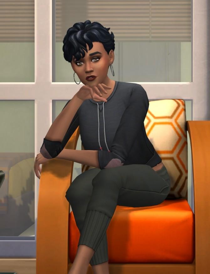 Sims 4 Maia Lockhart CC Free by kiimy 2 Sweet at Mod The Sims