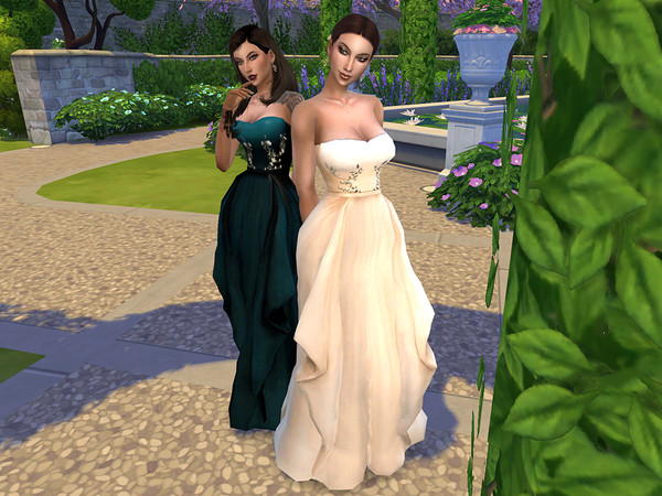 Oliva Formal Dress by neinahpets at TSR image 482 Sims 4 Updates