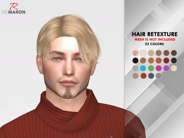 Sims 4 Notre Dame Hair Retexture by remaron at TSR