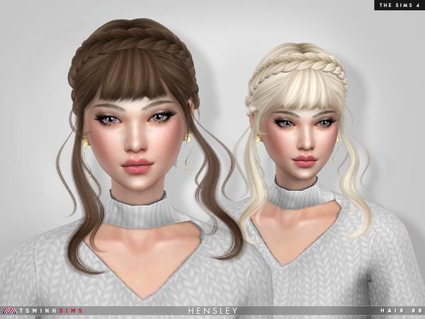 Hensley Hair 88 by TsminhSims at TSR image 5010 Sims 4 Updates