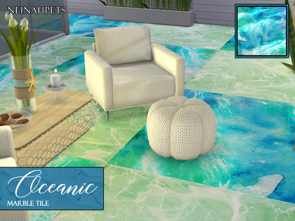 Sims 4 Oceanic Tiles by neinahpets at TSR