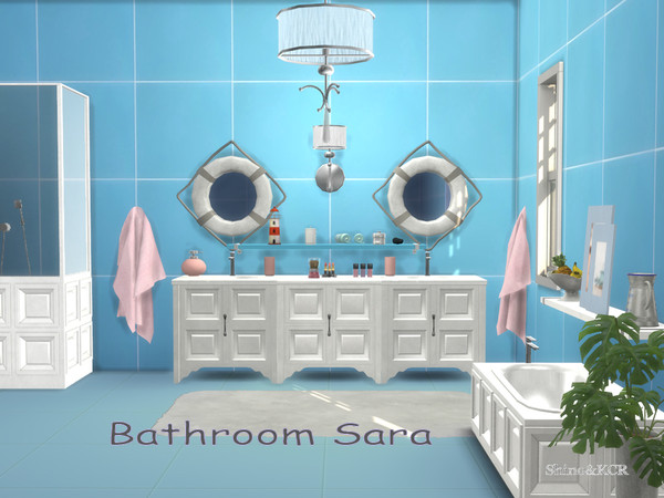 Bathroom Sara by ShinoKCR at TSR image 5221 Sims 4 Updates