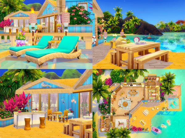 Sims 4 Amatheia house by sharon337 at TSR