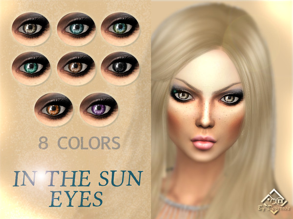 Sims 4 In The Sun Eyes by Devirose at TSR