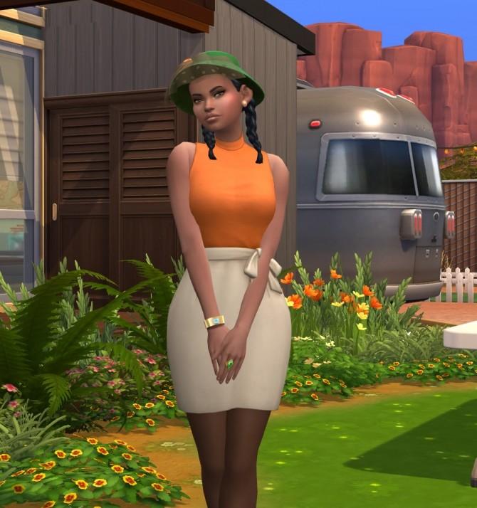 Sims 4 Zuri Hubbard CC Free by kiimy 2 Sweet at Mod The Sims