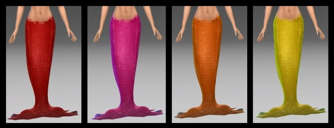 Sims 4 Mermaid/Merman Tail by NintendoLover13 at Mod The Sims