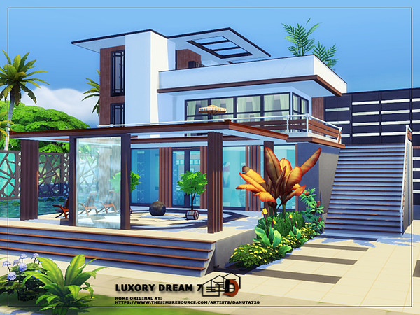 Luxury dream 7 house by Danuta720 at TSR image 55 Sims 4 Updates
