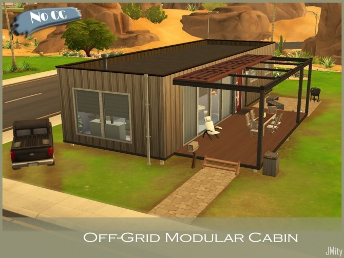 Off Grid Modular Cabin by J Mity at Mod The Sims image 5510 670x503 Sims 4 Updates