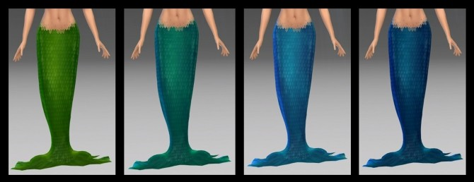 Mermaid/Merman Tail by NintendoLover13 at Mod The Sims image 5519 670x258 Sims 4 Updates