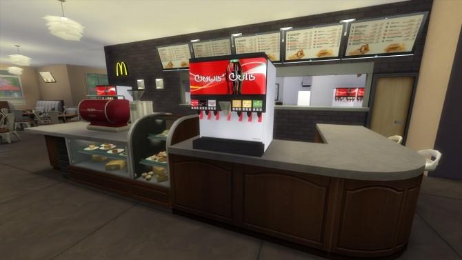Sims 4 Magnolia Promenade renovation #5 McDonalds by iSandor at Mod The Sims