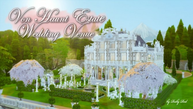 Von Haunt Estate Wedding Venue at Ruby's Home Design image 5631 670x377 Sims 4 Updates