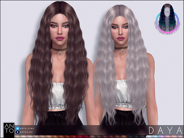Daya Hairstyle by Anto at TSR image 5713 Sims 4 Updates