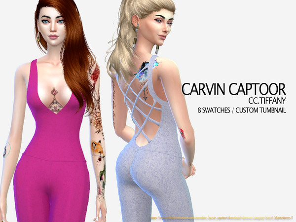Tiffany outfit by carvin captoor at TSR image 5814 Sims 4 Updates