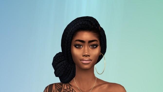 Sims 4 NALANI MAHI'AI at Paradoxx Sims