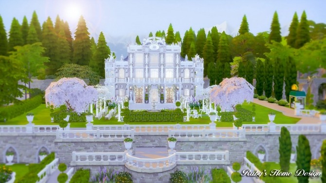 Von Haunt Estate Wedding Venue at Ruby's Home Design image 584 670x377 Sims 4 Updates
