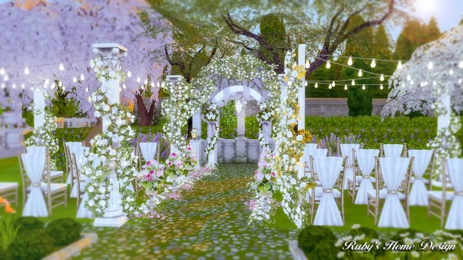 Von Haunt Estate Wedding Venue at Ruby's Home Design image 594 670x377 Sims 4 Updates