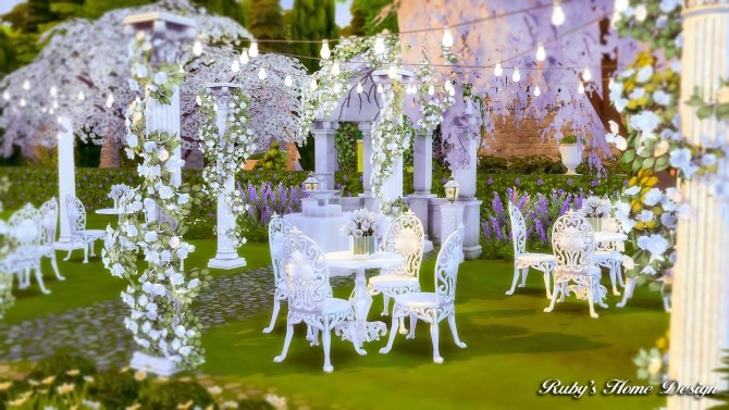 Von Haunt Estate Wedding Venue at Ruby's Home Design image 604 670x377 Sims 4 Updates