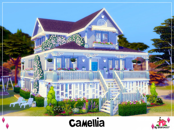 Camellia house Nocc by sharon337 at TSR image 6103 Sims 4 Updates