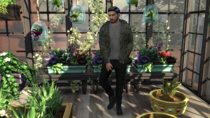 THE GLOW UP SERIES: GEORGE CAHILL at Paradoxx Sims image 6110 670x377 Sims 4 Updates
