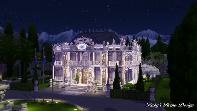 Von Haunt Estate Wedding Venue at Ruby's Home Design image 617 670x377 Sims 4 Updates