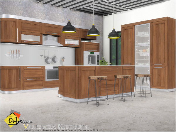 Valencia Kitchen by Onyxium at TSR image 6319 Sims 4 Updates