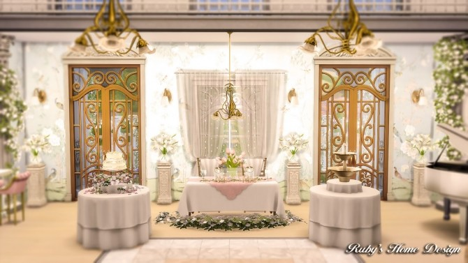 Von Haunt Estate Wedding Venue at Ruby's Home Design image 634 670x377 Sims 4 Updates