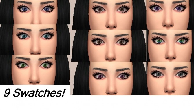 Non default Maxis Matchish eyes by Psychoradical at Mod The Sims image 639 670x383 Sims 4 Updates