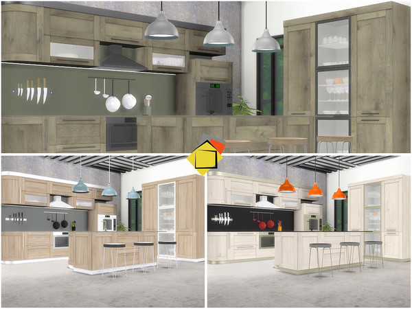 Valencia Kitchen by Onyxium at TSR image 6418 Sims 4 Updates