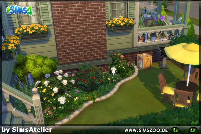 Sims 4 Lonely streamlet (Reno) house by SimsAtelier at Blacky's Sims Zoo