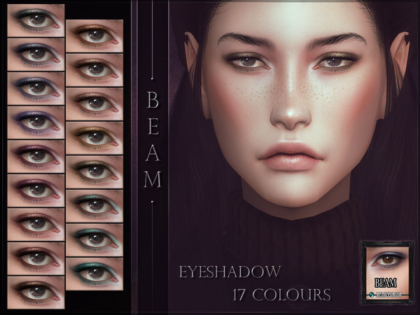 Sims 4 Beam Eyeshadow by RemusSirion at TSR