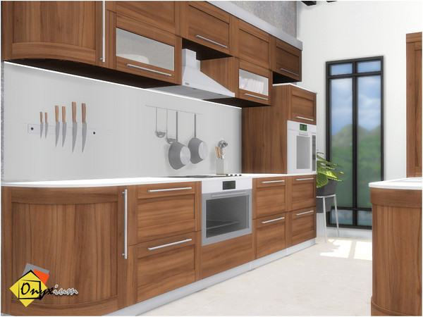 Valencia Kitchen by Onyxium at TSR image 6518 Sims 4 Updates