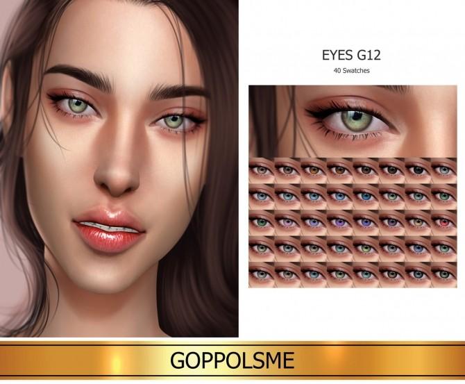 Sims 4 GPME GOLD Eyes G12 (P) at GOPPOLS Me