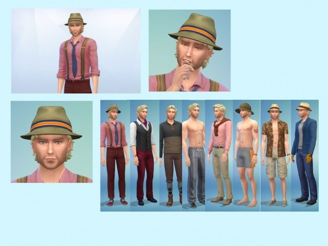 Mister Redding at KyriaT's Sims 4 World » Sims 4 Updates