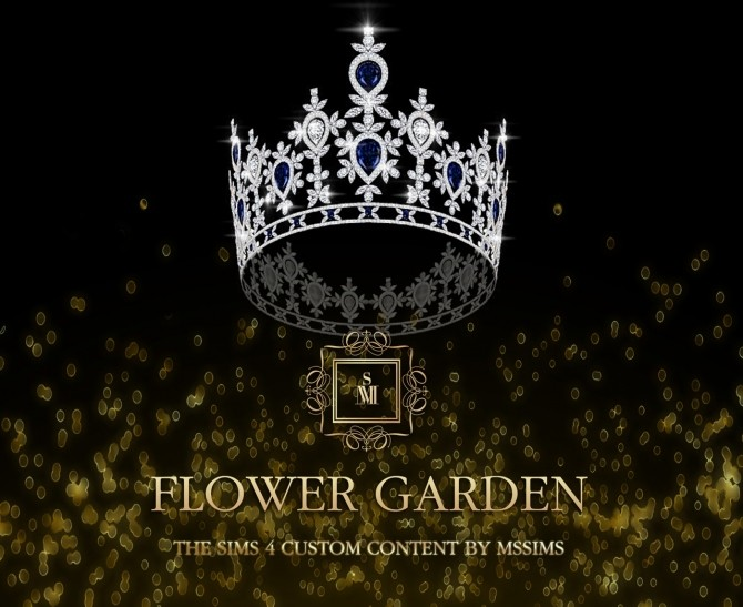Sims 4 FLOWER GARDEN CROWN (P) at MSSIMS
