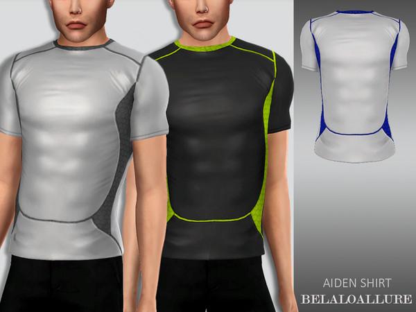 Sims 4 Belaloallure Aiden shirt by belal1997 at TSR