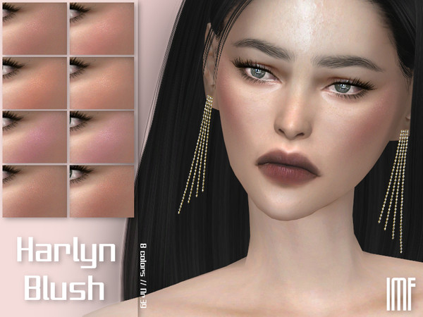 IMF Harlyn Blush N.39 by IzzieMcFire at TSR image 68 Sims 4 Updates