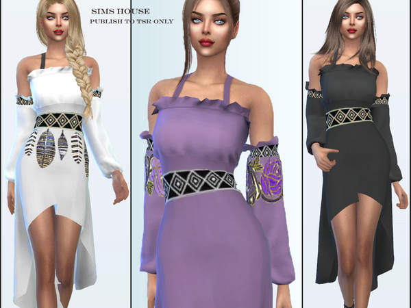 Dress Dryad by Sims House at TSR image 69 Sims 4 Updates