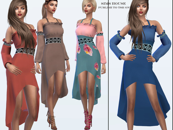 Dress Dryad by Sims House at TSR image 70 Sims 4 Updates